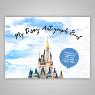 Disney Autograph Book with Character Pages