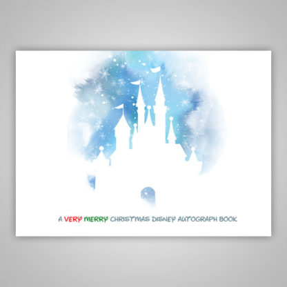 Disney Autograph Book Christmas