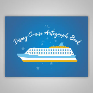 Disney Cruise Autograph Book