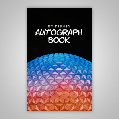 Disney Autograph Book Epcot