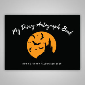 Disney Autograph Book Halloween