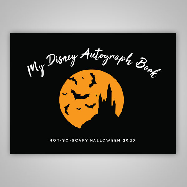 Halloween 2020 Autographed Poster Not So Scary Halloween 2020 Autograph Book | Disney Autograph Books