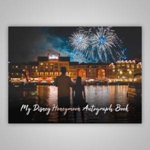 Disney Autograph Book Honeymoon