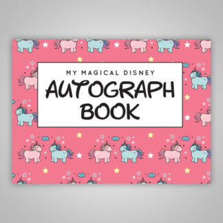 Disney Autograph Book Unicorns