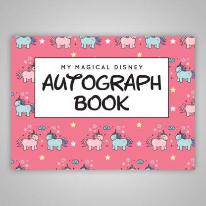 Disney Autograph Book Unicorns