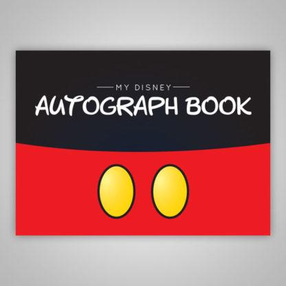 Boys Disney Autograph Book Mickey Mouse