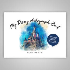 Disney Autograph Book Paris