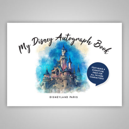 Disney Autograph Book Paris