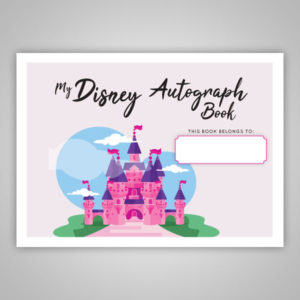 Disney Personalized Autograph Book
