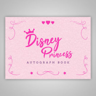 Disney Princess Autograph Book