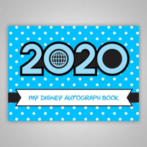 Disney Autograph Book 2020 Blue Boys