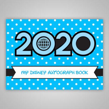 Disney Autograph Book 2020 Blue Boys