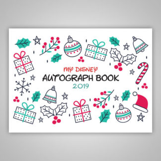 Disney Autograph Book Christmas 2020