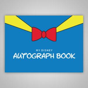 Disney Autograph Book Donald Duck