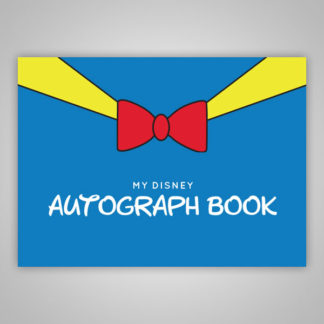 Disney Autograph Book Donald Duck