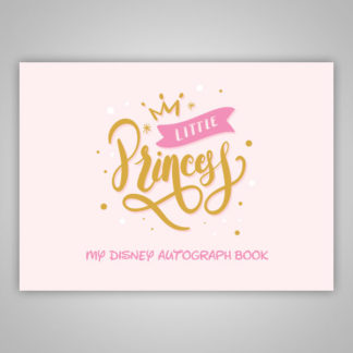 Disney Autograph Book Little Princess