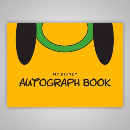 Disney Autograph Book Pluto