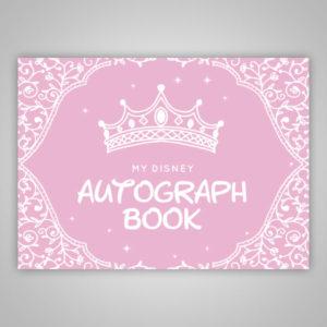 Disney Princess Autograph Book Pink