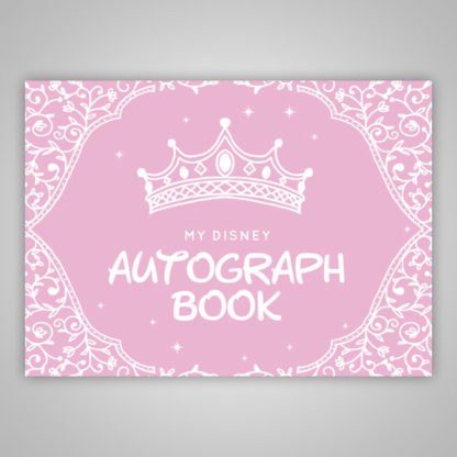 Disney Princess Autograph Book Pink