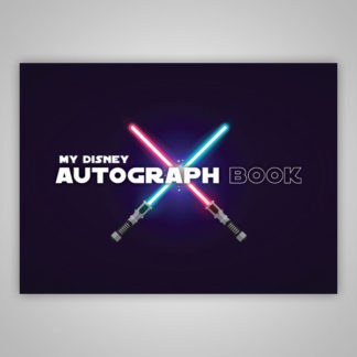 Disney Autograph Book Star Wars Lightsabers