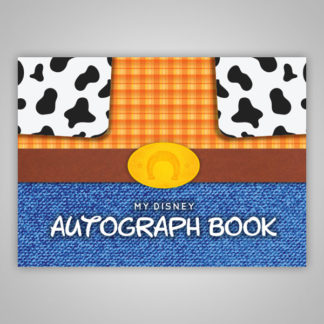 Disney Autograph Book Woody Toy Story