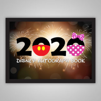 Disney Autograph Book 2020 Fireworks