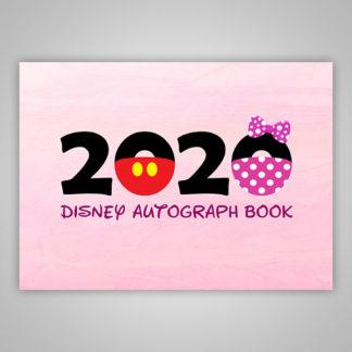 Disney Autograph Book 2020 Pink