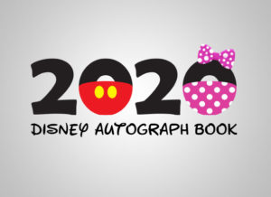 Disney Autograph Book 2020