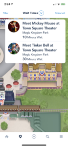 My Disney Experience Wait Times