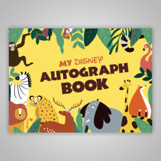 Disney Autograph Book Jungle Animals