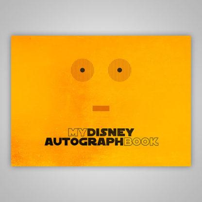 Disney Autograph Book Star Wars C3P0