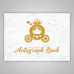 Disney Autograph Book Princess Carriage