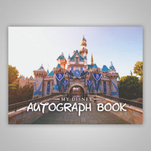 Disney Autograph Book Castle