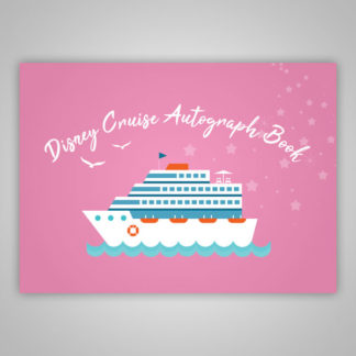 Disney Cruise Autograph Book Pink