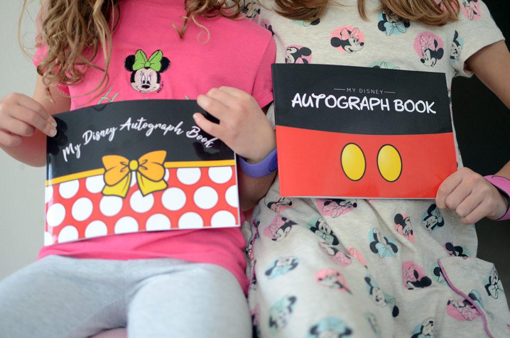 Disney Autograph Book Souvenirs