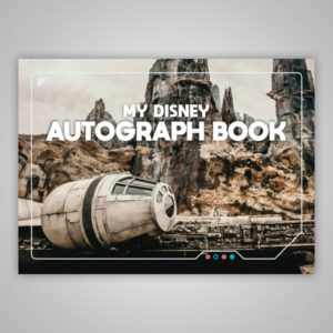 Disney Autograph Book Star Wars Galaxy's Edge