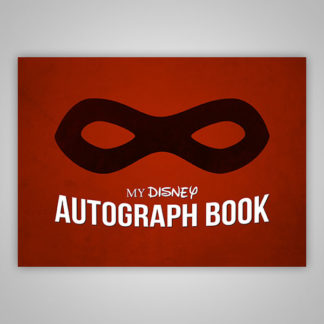 Disney Autograph Book The Incredibles