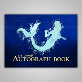 Ariel Little Mermaid Disney Autograph Book