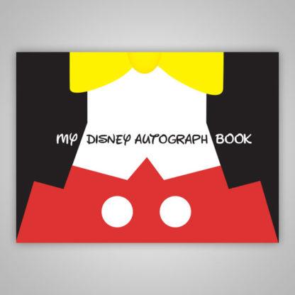 Disney Autograph Book Mickey Mouse Tuxedo