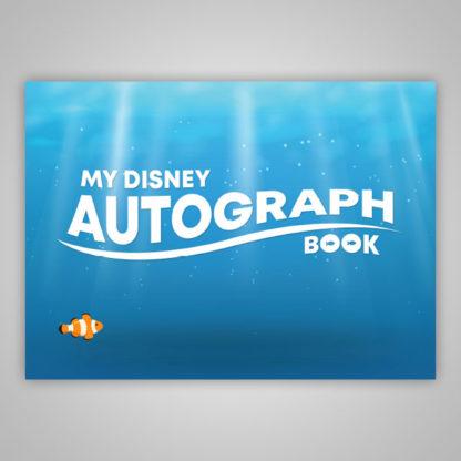 Nemo Disney Autograph Book