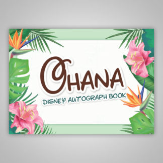 Disney Autograph Book Lilo and Stitch Ohana