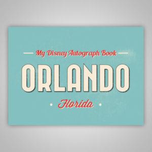 Disney Autograph Book Orlando Florida