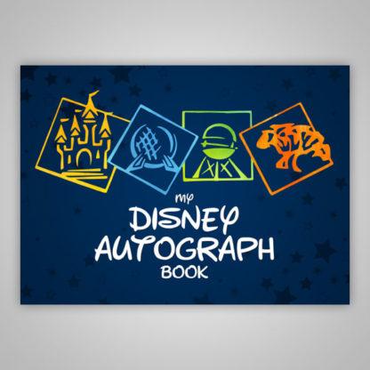 Disney Parks Autograph Book