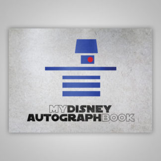 Disney Autograph Book Star Wars R2D2