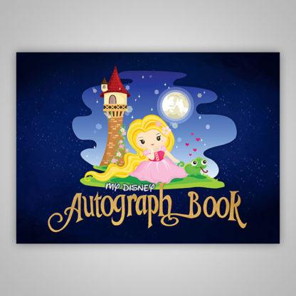 Rapunzel Disney Autograph Book