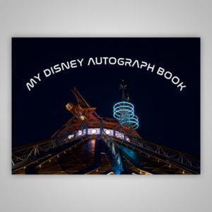 Disney Autograph Book Space