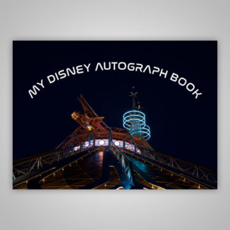 Disney Autograph Book Space