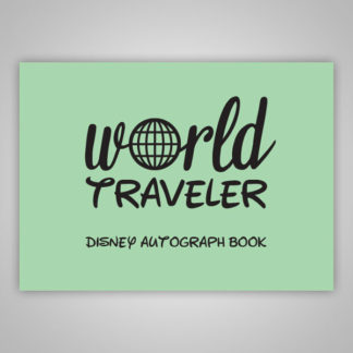Disney Autograph Book World Traveler