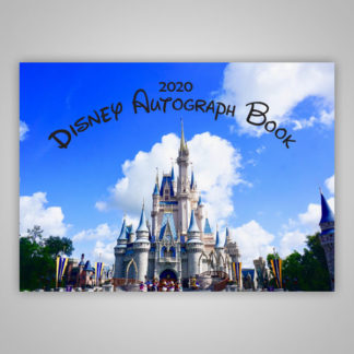 Disney Autograph Book 2020 Castle