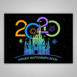 Disney Autograph Book 2020 Black